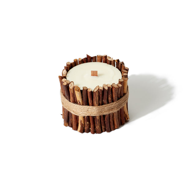 Cul de Sac Japan - Hiba Wood Essential Oil Candle - Twigs