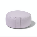Organic Round Meditation Cushion - mist