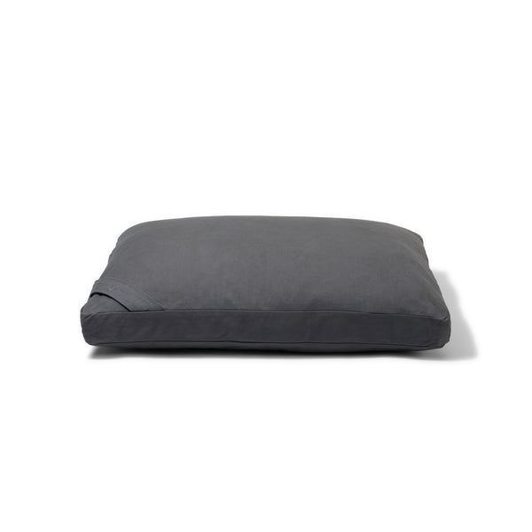 Organic Flat Meditation Cushion - slate