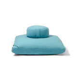 Organic Meditation Cushion Set - water