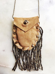 Leather Intention Bag