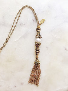 Mia tassel Necklace