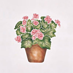 #117 Patsy's Begonia Stencil