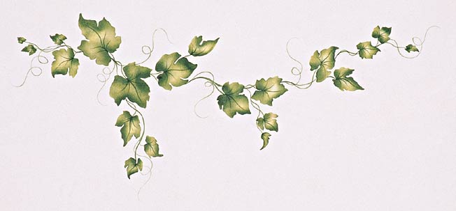#130 J.Renee's Ivy Leaves Stencil
