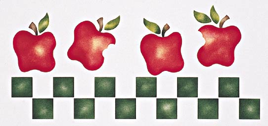 #235 Apple Border