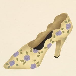 #245 Girly Girl Shoe Stencil