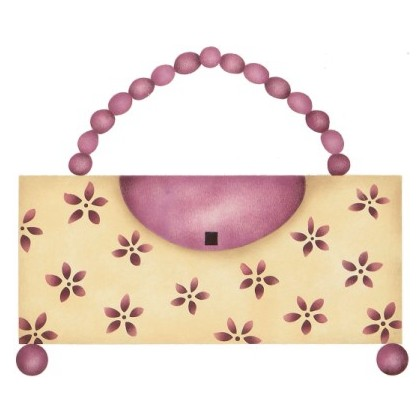 #253 Daisy Pearl Purse