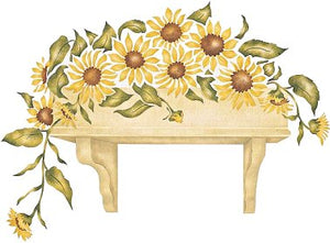 #308 Sunflower Window Box