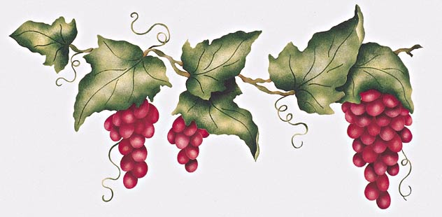#407 Tuscany Grape Vine