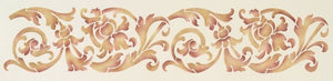 #530 Bella Florish Border Stencil