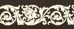 #530S Bella Florish Border Stencil