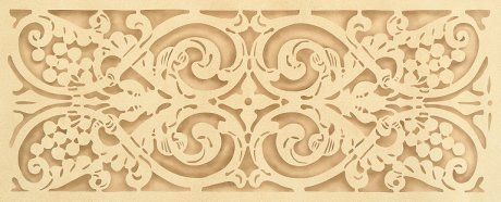 #531 Italian Grape Trellis Stencil