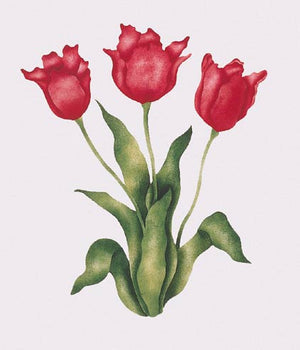 #611 Morgan's Tulips Stencil