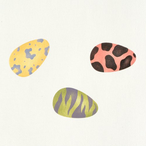 #727 Chickie Eggs Stencil