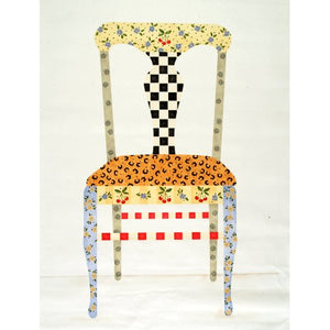 #728 Whimsey Painted Chair Stencil