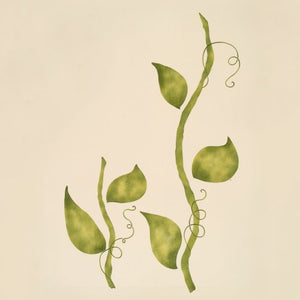 #740 Stems & Leaves Stencil