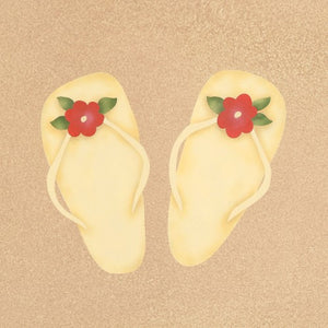 #831 Bizzy's Beach Sandals