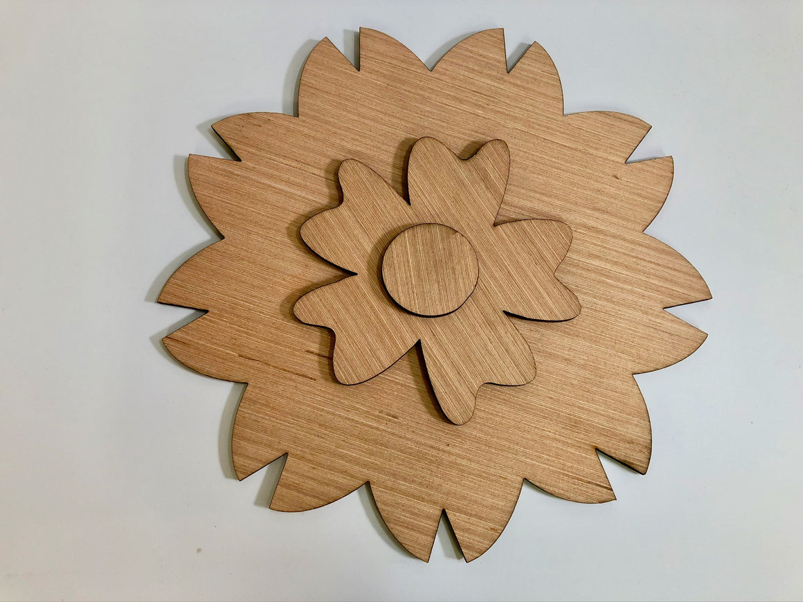 Americana Flower Foil Kit  **Flower Cut Out Only**