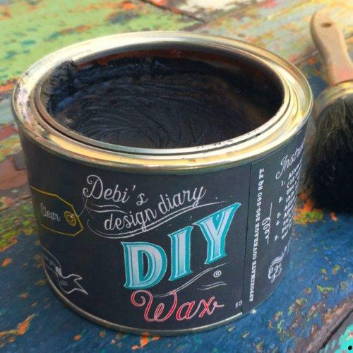DIY Wax Black
