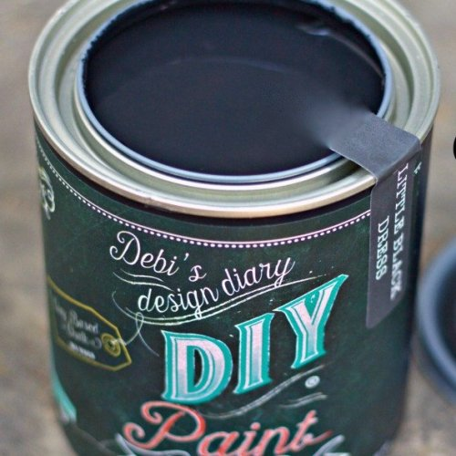 Little Black Dress DIY Paint