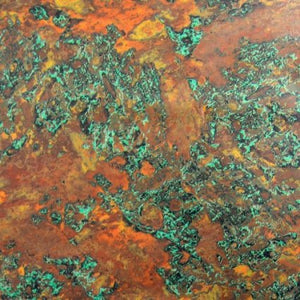 Weathered Copper Foil