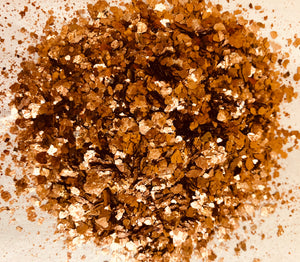 Copper Mica Flakes