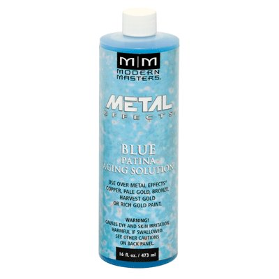 Metal Effects Blue Patina