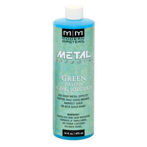 Metal Effects Green Patina