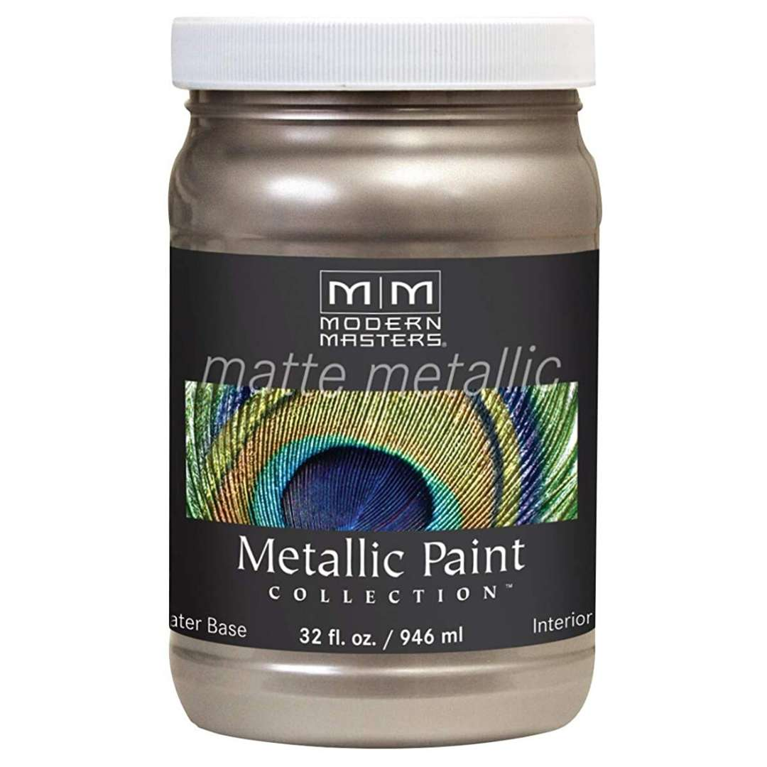 Metallic Paint - Matte Warm Silver