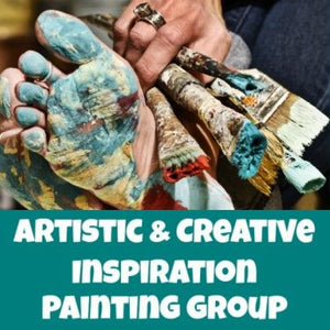 Artistic & Creative Inspiration Painting Group - Monthly Membership
