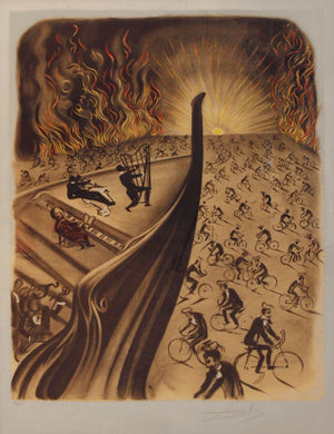Symphony Bicyclette By Salvador Dali