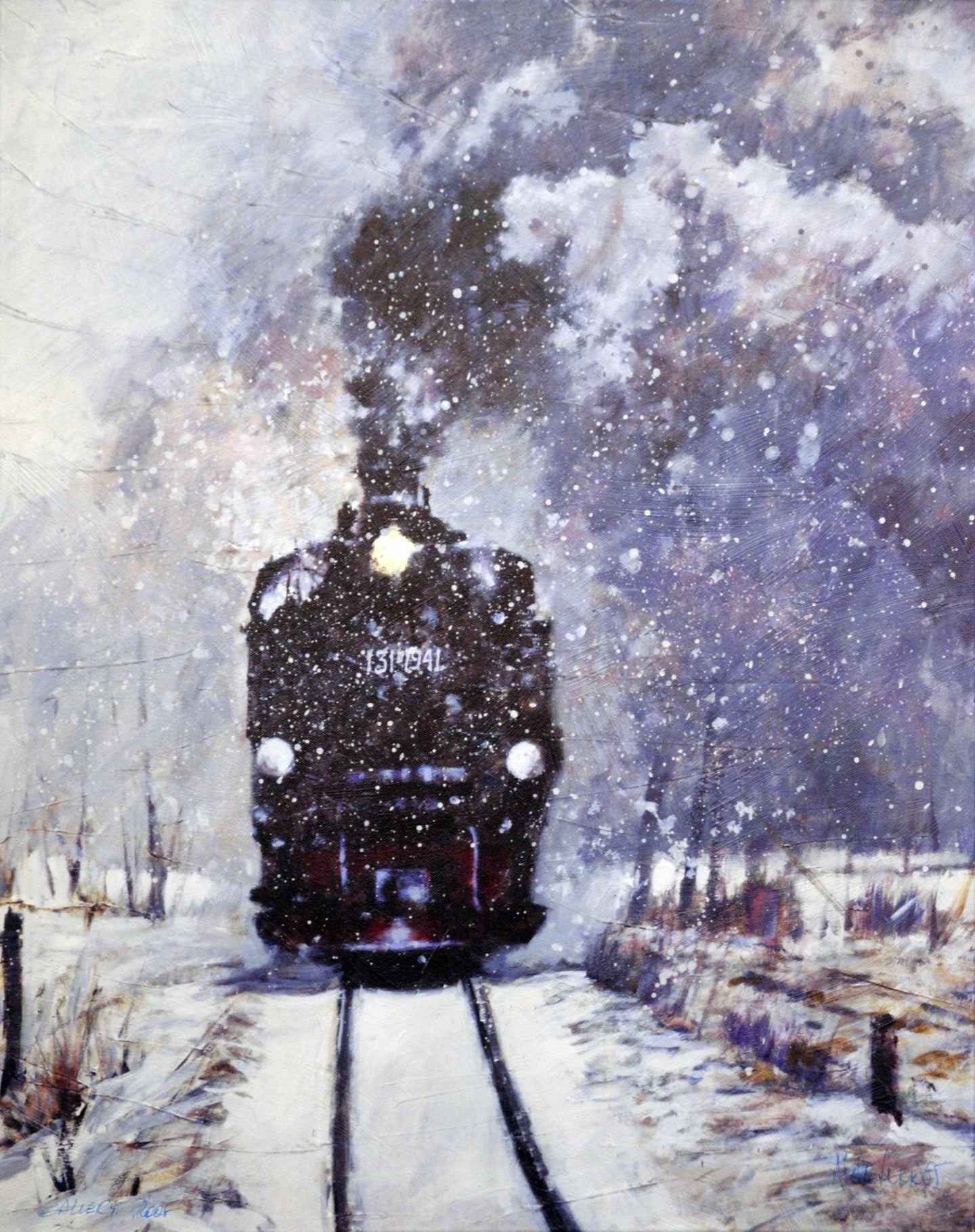 Winter Express By Aldo Luongo