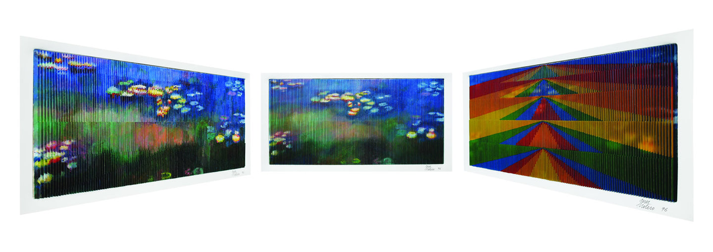 Monet Impressionist Series - Water Lilies By Antonio Perez Melero