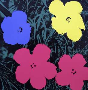 Flowers [11.73] By Andy Warhol