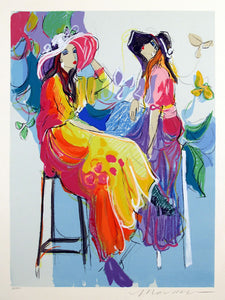 Les Coquettes II By Isaac Maimon