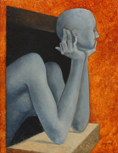 The Thinker By Jean-Michel Lengrand