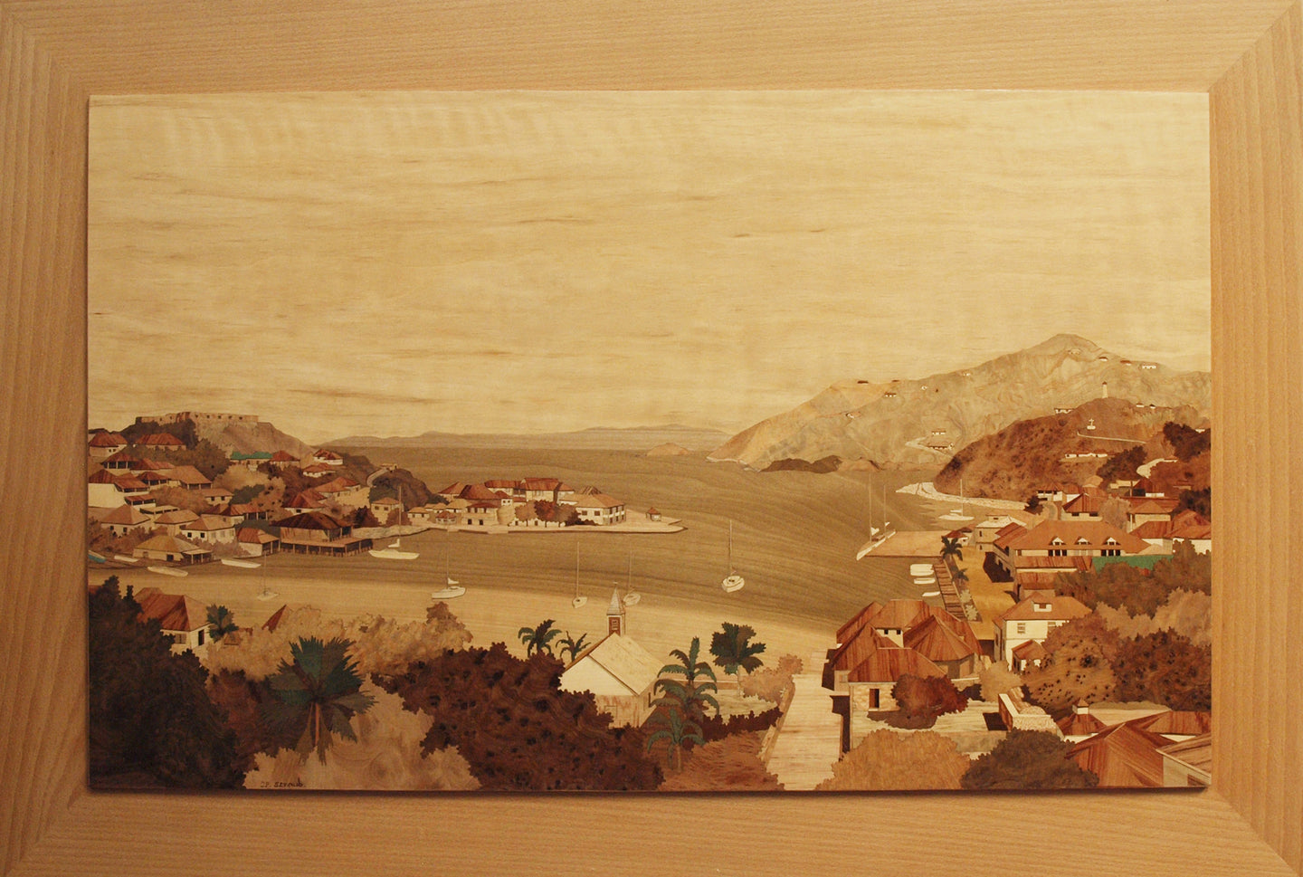 Gustavia Panoramique By Jean Pierre Straub