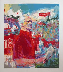 Coach Walsh By LeRoy Neiman