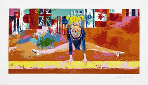 Olympic Gymnast By LeRoy Neiman