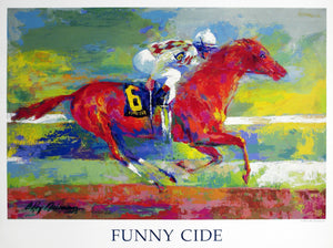 Funny Cide By LeRoy Neiman
