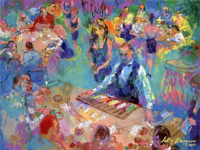 High Stakes Blackjack Vegas By LeRoy Neiman