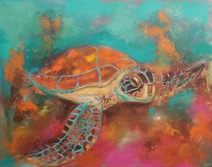 Sea Turtle By Naydene Gonnella