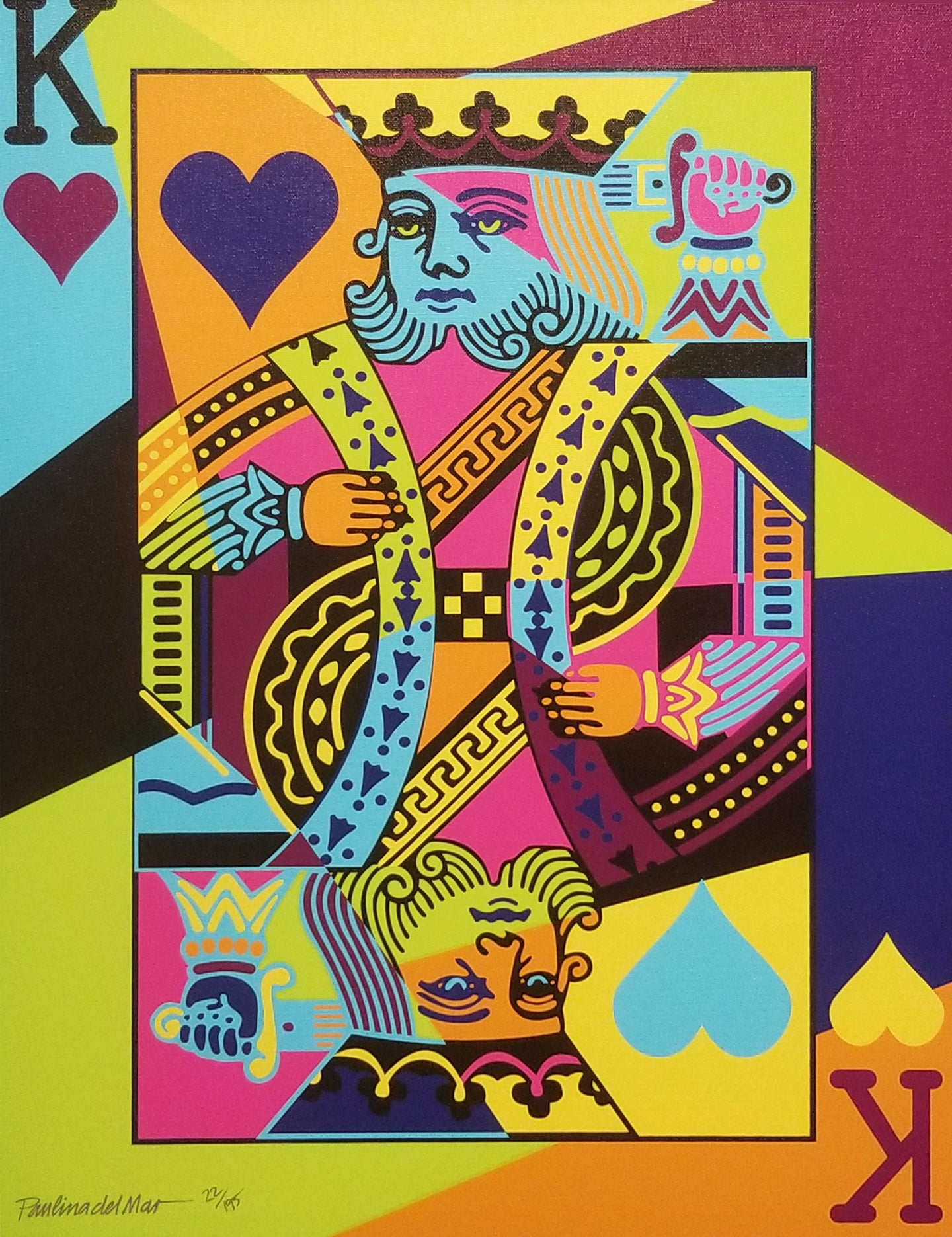 King of Hearts II By Paulina del Mar