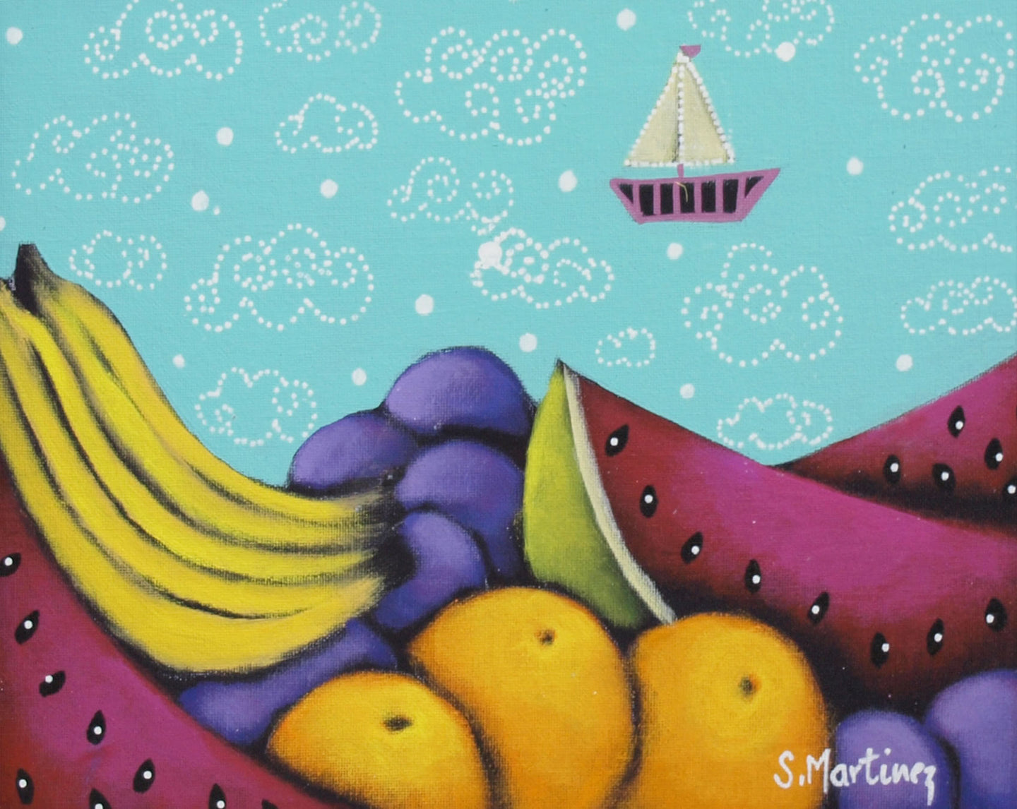Las Frutas del Mar By Socorro Martinez