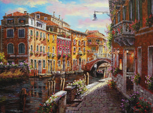 Shimmering Canal By Sung Sam Park