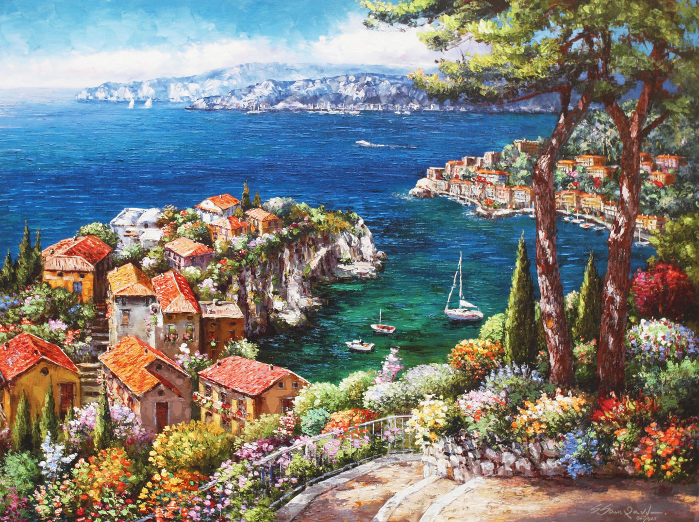 Cote D'Azur By Sung Sam Park