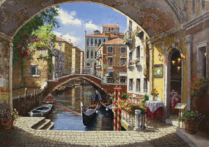 Archway to Venice By Sung Sam Park