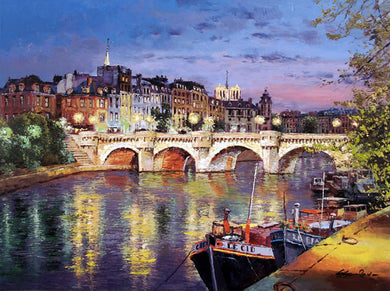 Twilight at Pont Neuf By Sung Sam Park