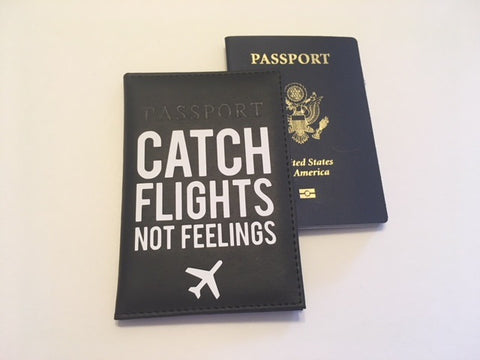 Catch Flights! Passport Cover