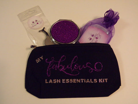 My 'Fabulous' Lash Essentials Kit Bag